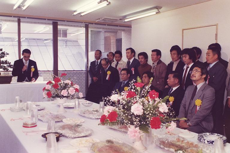 昭和55年 新社屋新築移転