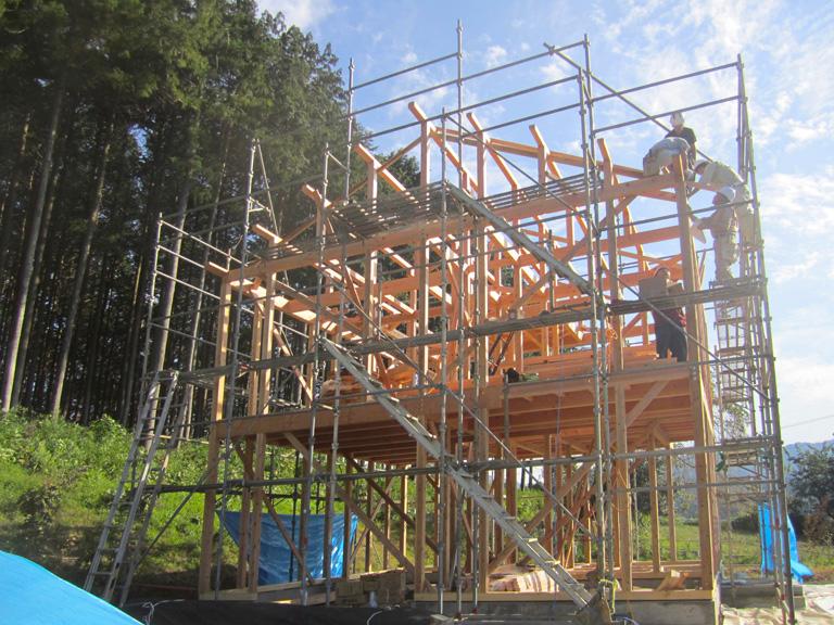 木造軸組在来工法 02