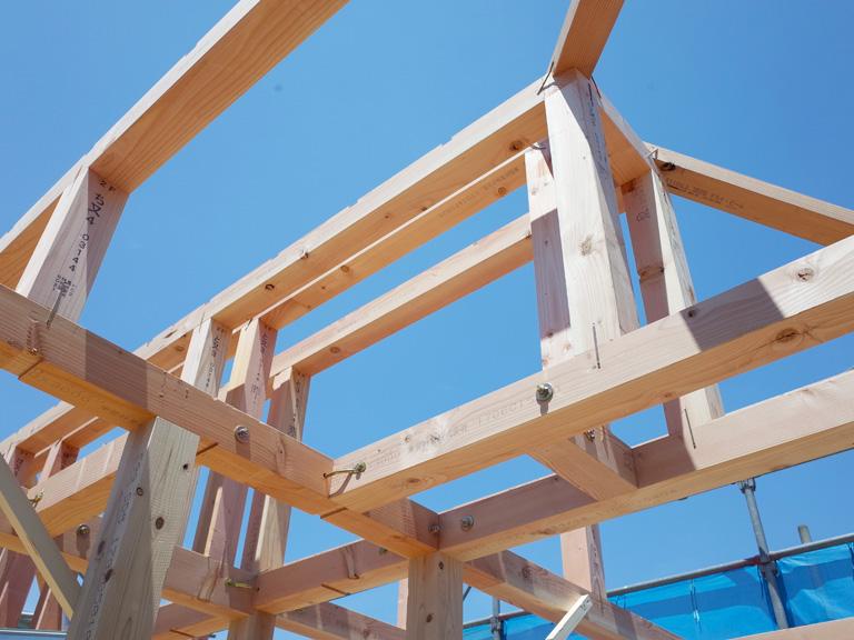 木造軸組在来工法 01